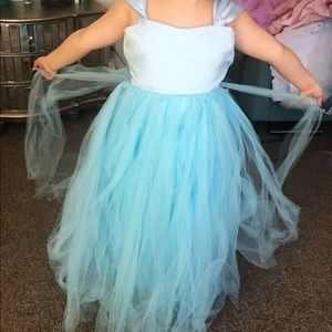 Other - Tiffany blue Girls Tulle Formal Easter BDay Dress